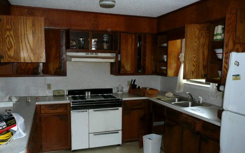 Kitchen cabinets house and ten for Best thing to line kitchen cabinets